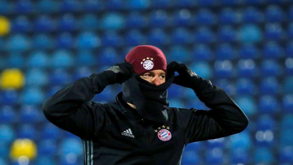 Foto: Xabi Alonso, jugador del Bayern de Múnich. (Reuters)