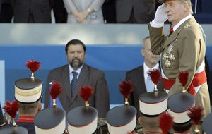 El Rey recibe en audiencia a la sobrina de Mariano Rajoy
