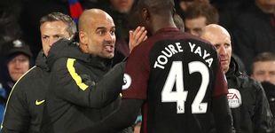Post de Guardiola celebra la vuelta de Touré, castigado tras la rajada de su agente