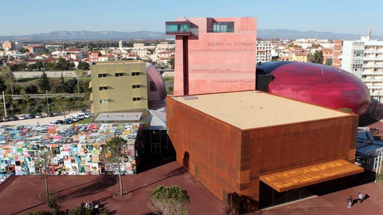 El teatro del Archipiélago, obra de Nouvel. (Foto: Turismo de Perpiñán)