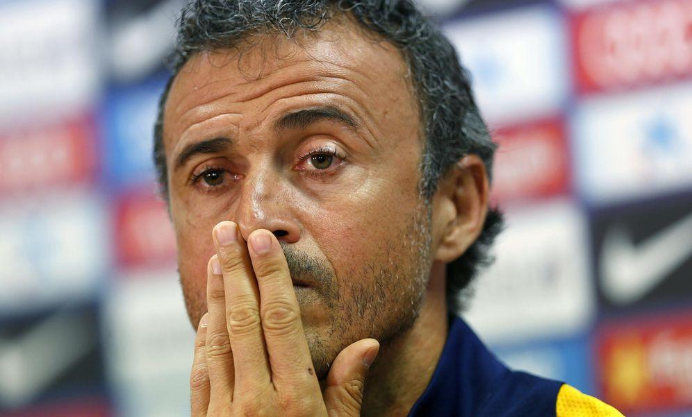 Foto: Luis Enrique se queda sin su mejor suplente y el Barça no puede fichar (Efe)