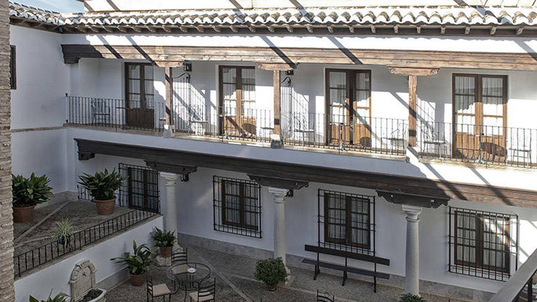 El patio del Retiro del Maestre, ejemplo de arquitectura castellanomanchega.