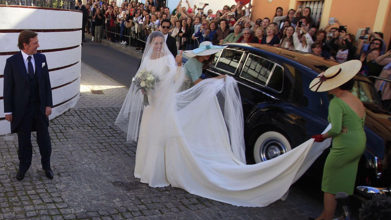 Foto: El vestido de novia de Eva González (Gtres)