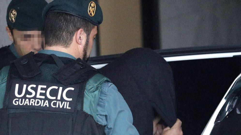Foto: La Guardia Civil traslada al sospechoso del asesinato de Diana Quer el pasado 1 de enero. (EFE)