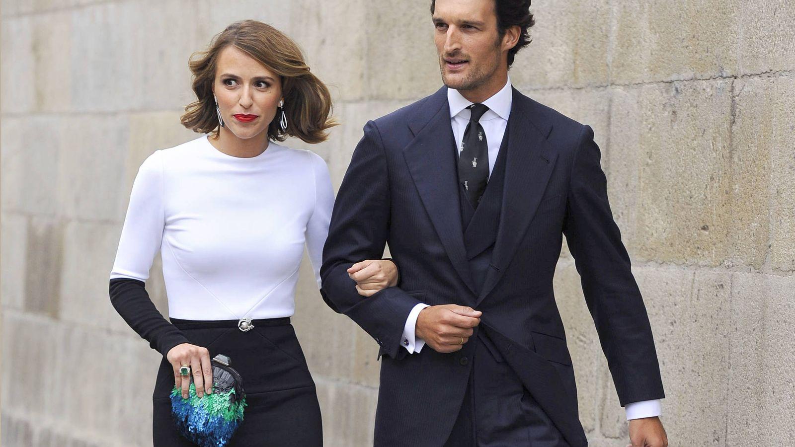 Foto: Rafa Medina y Laura Vecino son una de las parejas más elegantes del panorama celebrity actual. (Gtres)