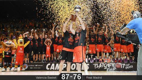 El Valencia gana al Madrid y conquista la ACB por primera vez en su historia
