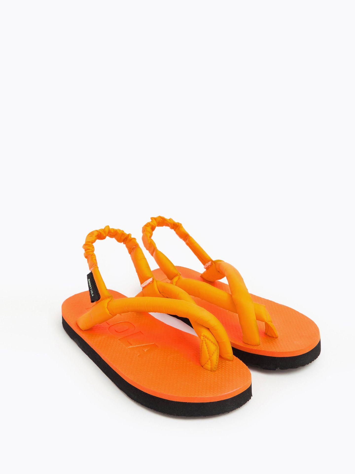 Sandalias de Bimba y Lola. (Cortesía)