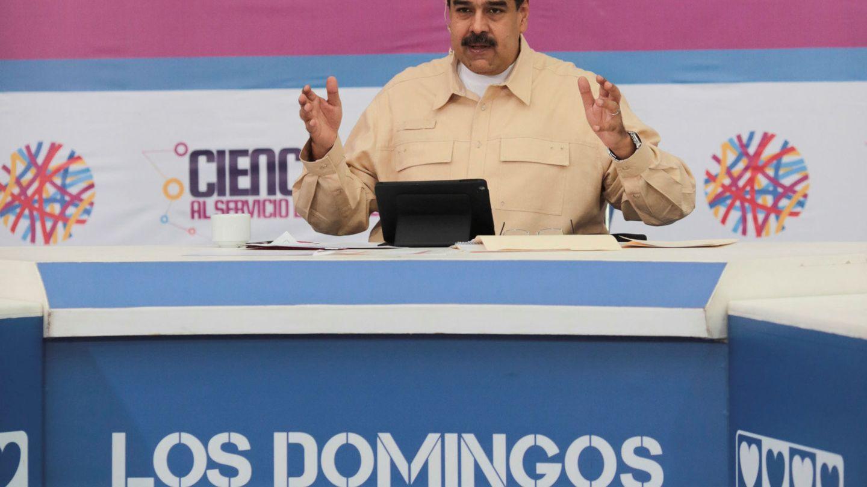 Maduro, en su programa de los domingos. (Reuters)
