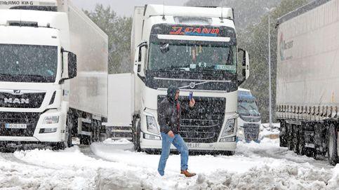Filomena llega a Cataluña sin incidencias y sin apenas nieve en Barcelona