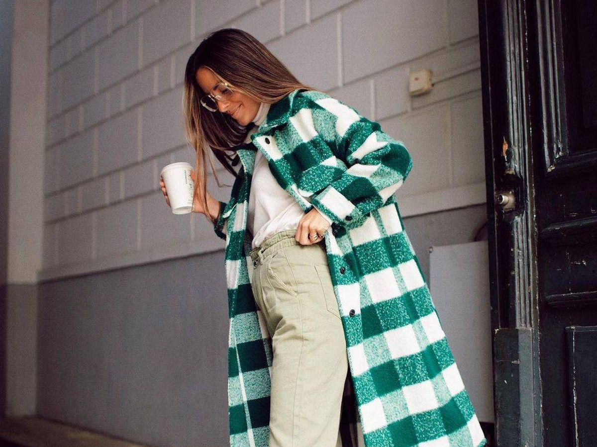 Foto: Maria Fernández-Rubíes tiene el abrigo más espectacular de toda la colección de Zara. (Instagram, @mariafrubies)