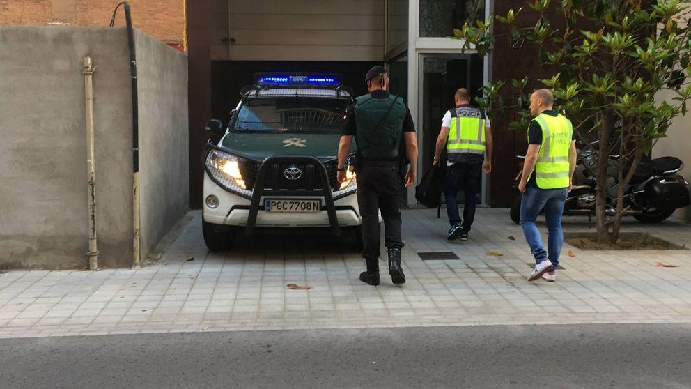 Las imágenes de la detención del expresidente del Barça Sandro Rosell