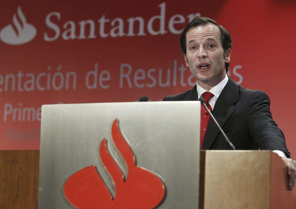 Foto: El consejero delegado del Banco Santander, Javier Marín. (EFE)