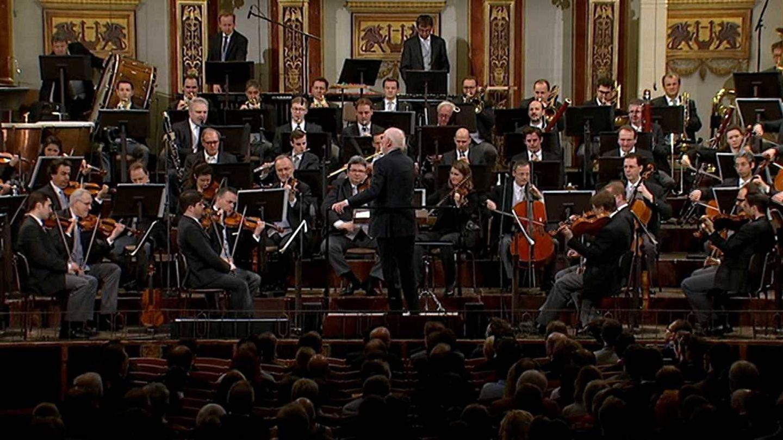 Orquesta Filarmónica de Viena, dirigida por John Williams. (TVE)