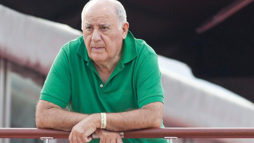 Amancio Ortega multiplica por cuatro la riqueza de Del Pino y Juan Roig juntos