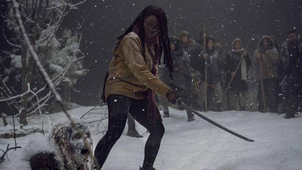 Foto: Michonne en 'The Walking Dead'. (AMC)