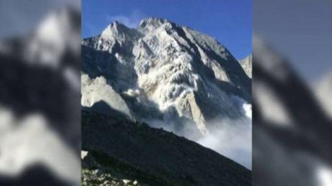Ocho desaparecidos tras una avalancha en Suiza