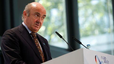 Guindos (BCE) dice que condonar la deuda pública es ilegal y carece de sentido