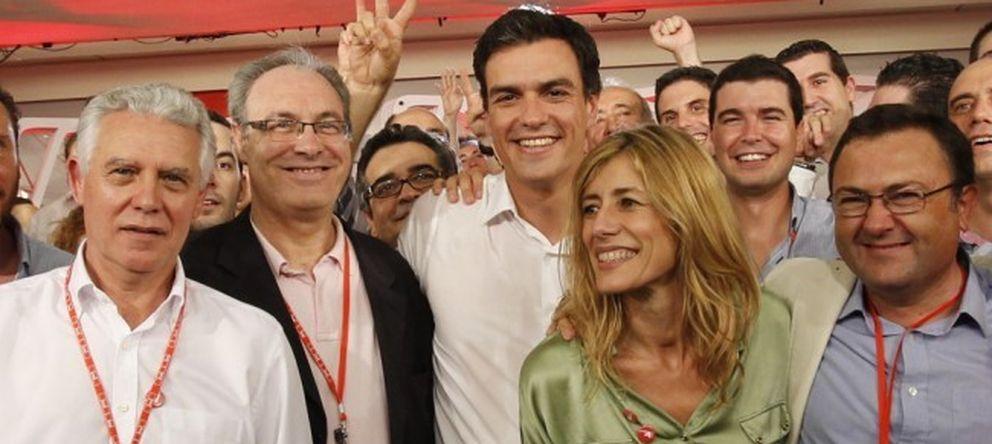 Foto: Pedro Sánchez junto a su mujer, Begoña Gómez, el pasado mes de julio (PSOE)