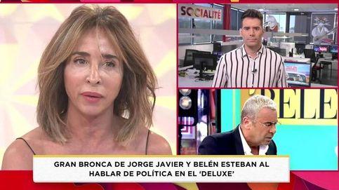 La teoría de María Patiño sobre los culpables de la gran bronca entre Jorge Javier y Belén Esteban