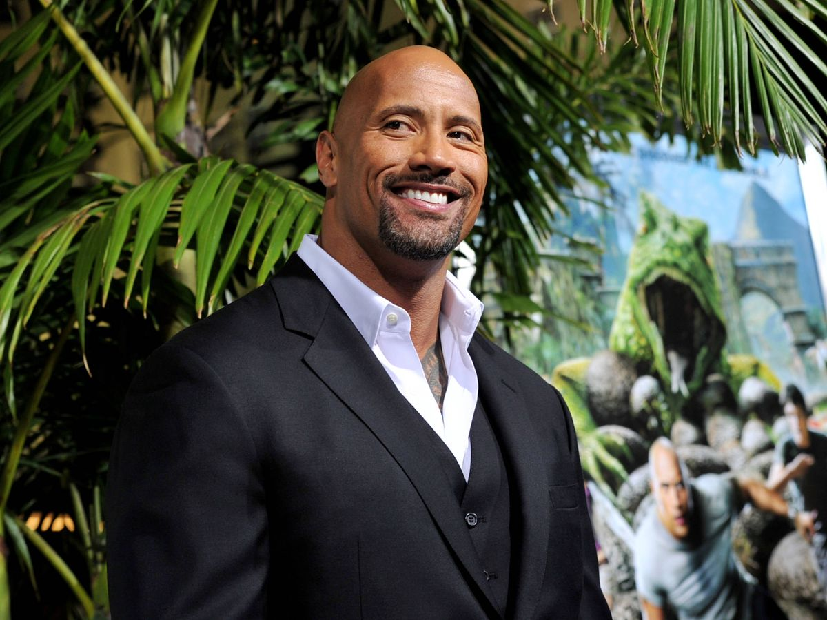 Photo: Dwayne Johnson, in a file image.  (Getty)