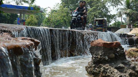 Los monzones inundan el sur de Asia