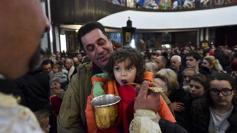 Georgia celebra la Navidad ortodoxa con una procesión caritativa