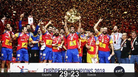 España tumba a Suecia y conquista por primera vez el oro europeo en balonmano