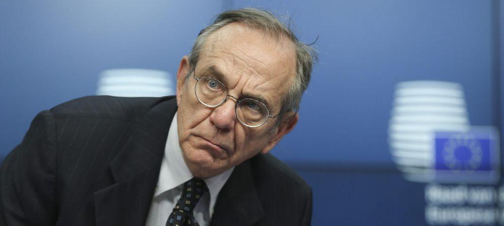 Foto: El presidente del Ecofin, Pier Carlo. (EFE)