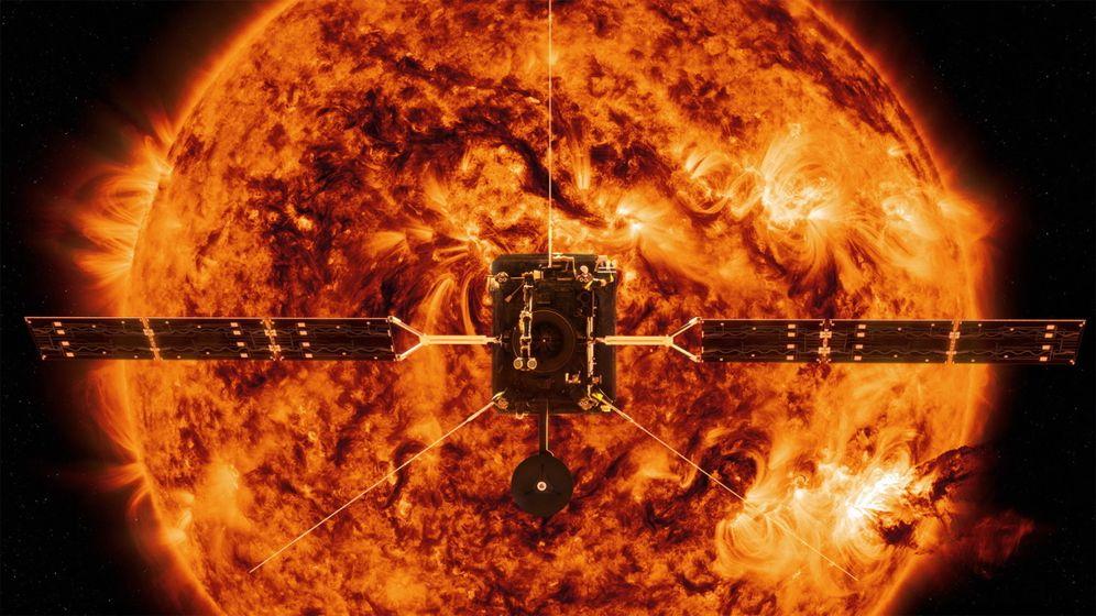 Foto: Solar Orbiter. (Nasa)
