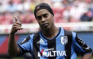 Unas vacaciones demasiado largas podrían costarle muy caro a Ronaldinho en México
