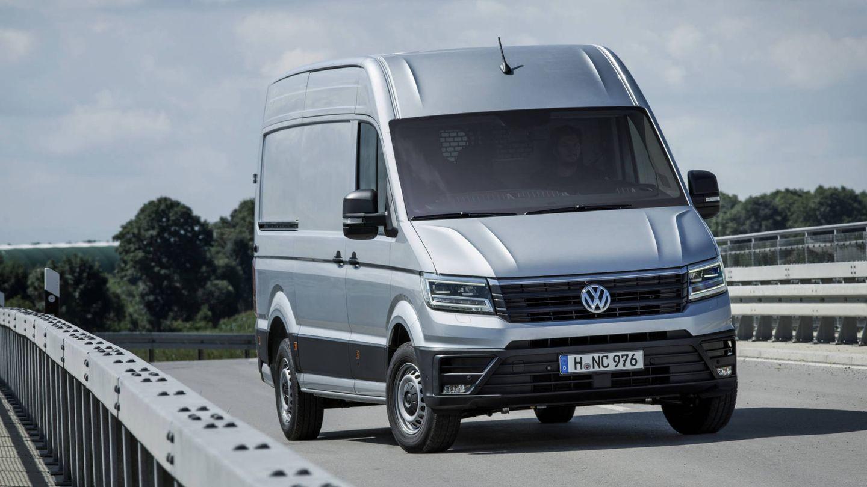 Las ventas del Crafter, la furgoneta grande, crecieron un 24% en España en 2019.