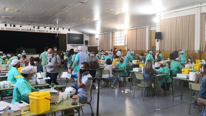 Foto: El interior del IES La Paloma, hoy. (EC)