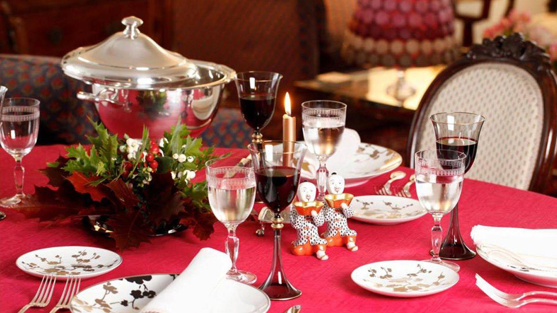 La mesa navideña, según Isabel Maestre.