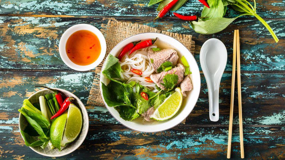 Foto: La sopa pho, un clásico vietnamita. (iStock)