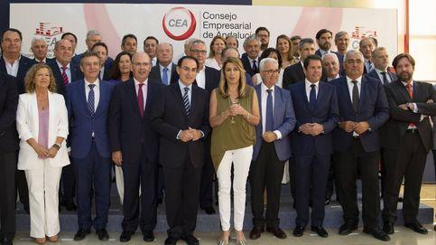 El Ibex 35 andaluz corteja a Susana Díaz