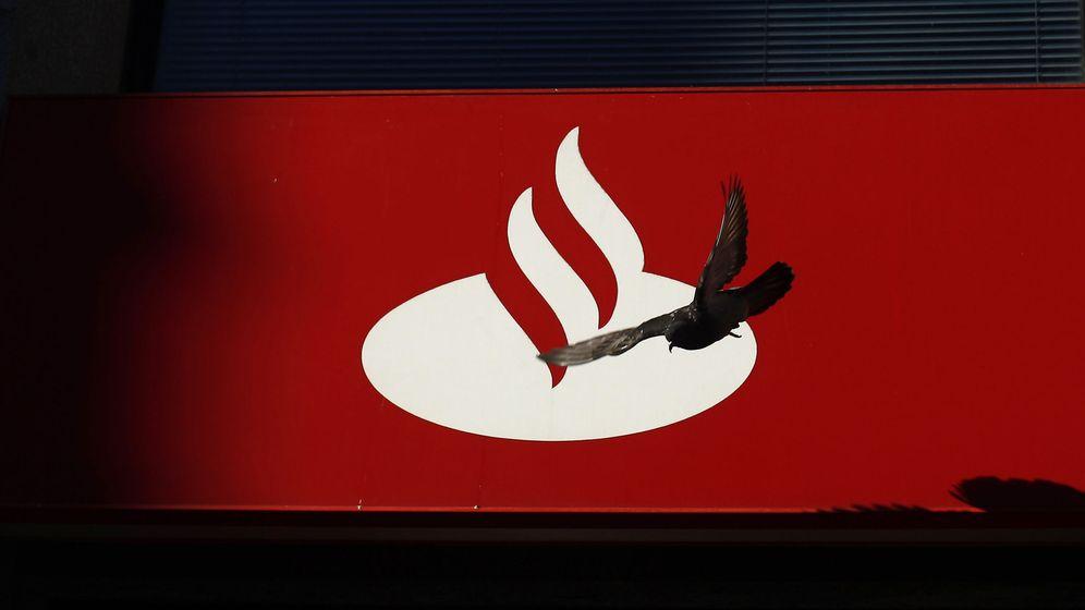 Foto: Logo del banco Santander (Reuters)