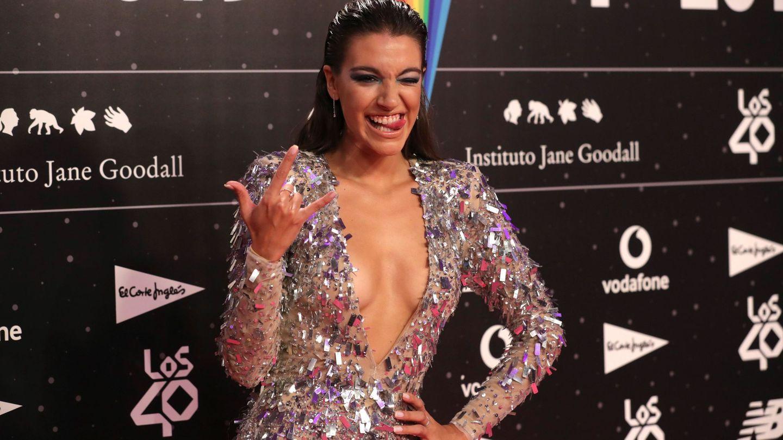 Ana Guerra, en la cena de los nominados de los 40 Music Awards. (EFE)