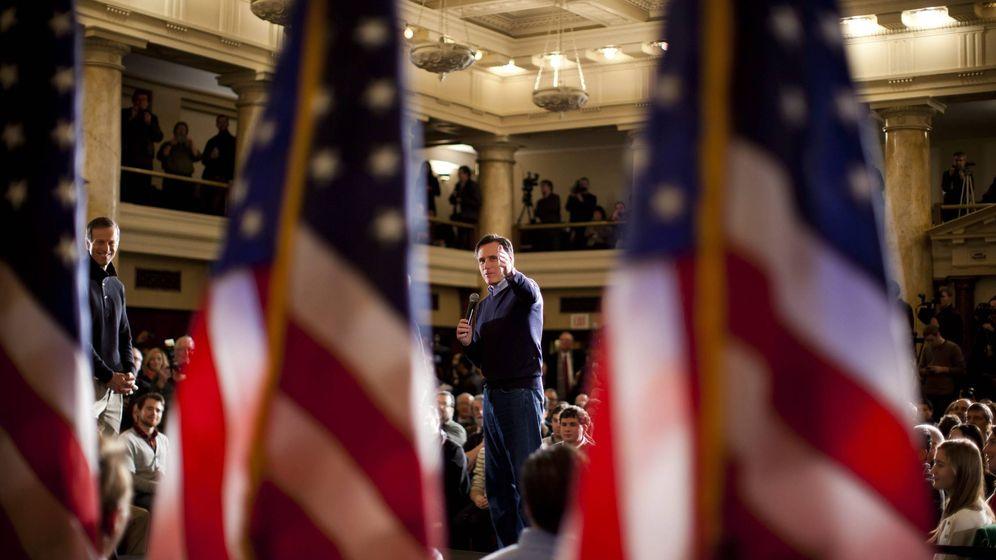 Foto: Foto de archivo de 2012 del candidato a representar a los republicanos a la presidencia, Mitt Romney, horas antes de los caucus de Iowa. (EFE)