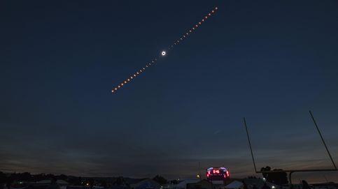 Vídeos: así se ha visto el eclipse solar del 21 de agosto desde la tierra y el espacio