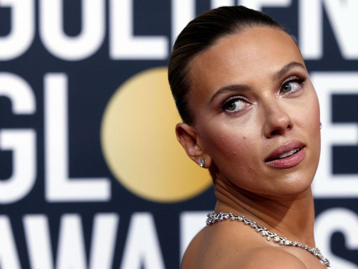 Foto: Scarlett Johansson, en los Globos de Oro 2020. (Reuters)