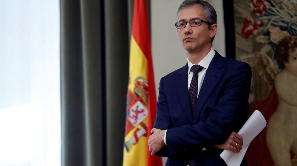 Foto: Pablo Hernández de Cos, gobernador del Banco de España. (EFE)