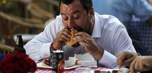 Post de El ayuno de Salvini para recibir apoyos: