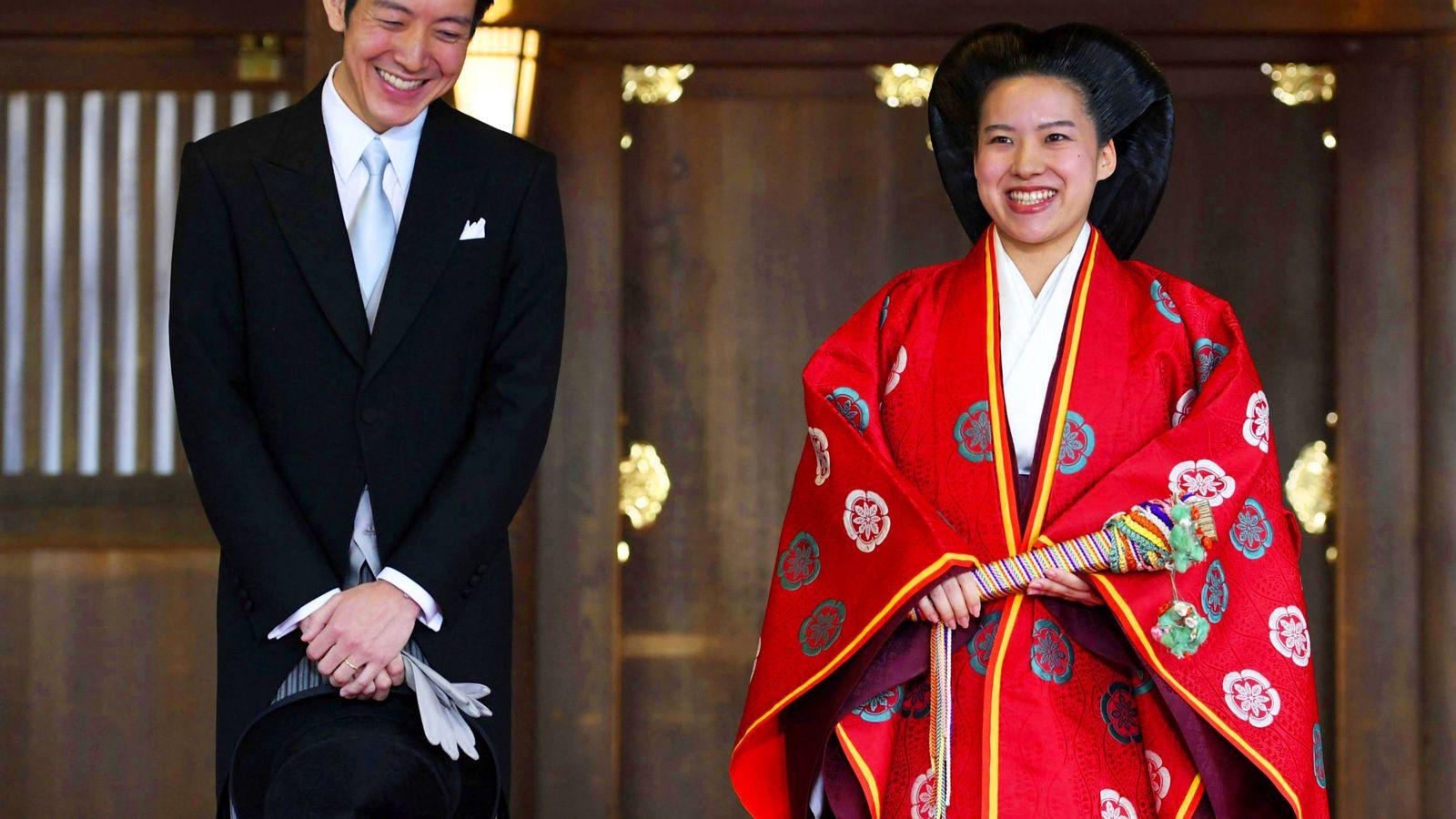Foto: La boda de Ayako de Japón. (Reuters)