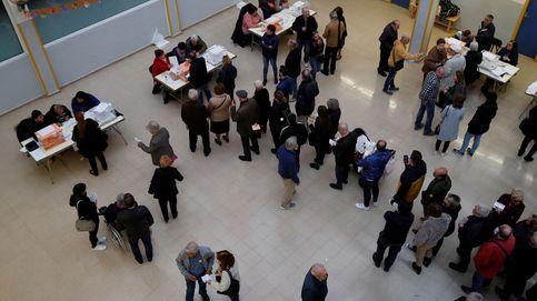 La tasa de participación sigue bajando: el 56% de los electores ha votado a las 18:00 horas