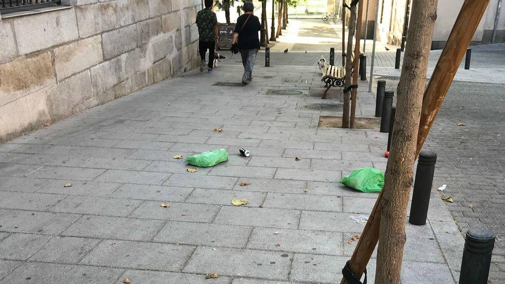 Foto: Suciedad en Madrid.