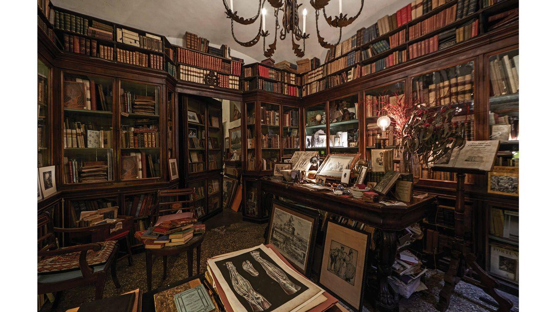 Foto: La Antica Libreria Cascinelli es un lujo histórico de la capital romana.
