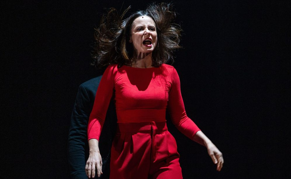 Foto: Aitana Sánchez Gijón en 'Juana' en el Teatro Español de Madrid