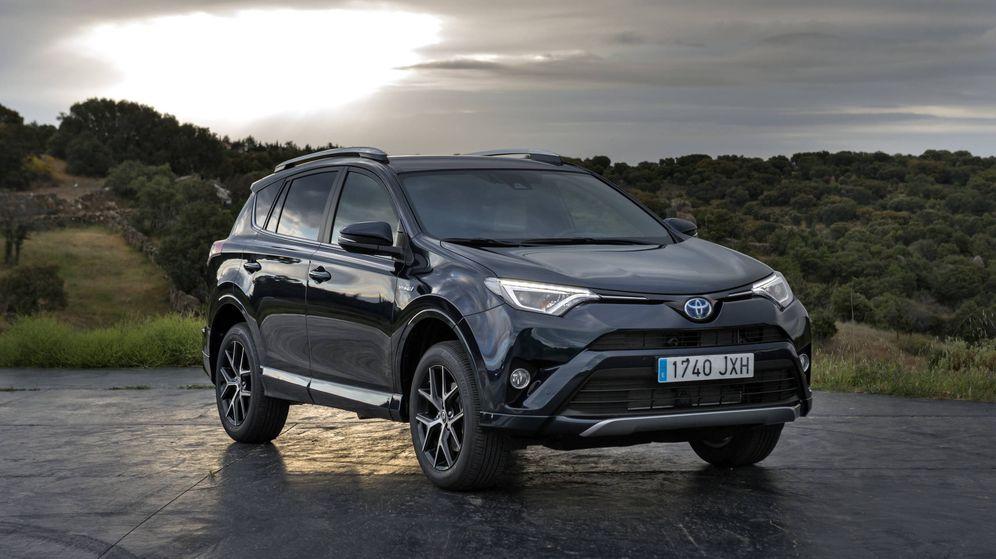 Foto: Toyota RAV4 Hybrid actual al que pronto se añadirá la versión híbrida enchufable.