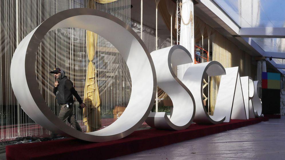 Foto: Los preparativos de los Oscar en el Dolby Theatre de Hollywood. (EFE)