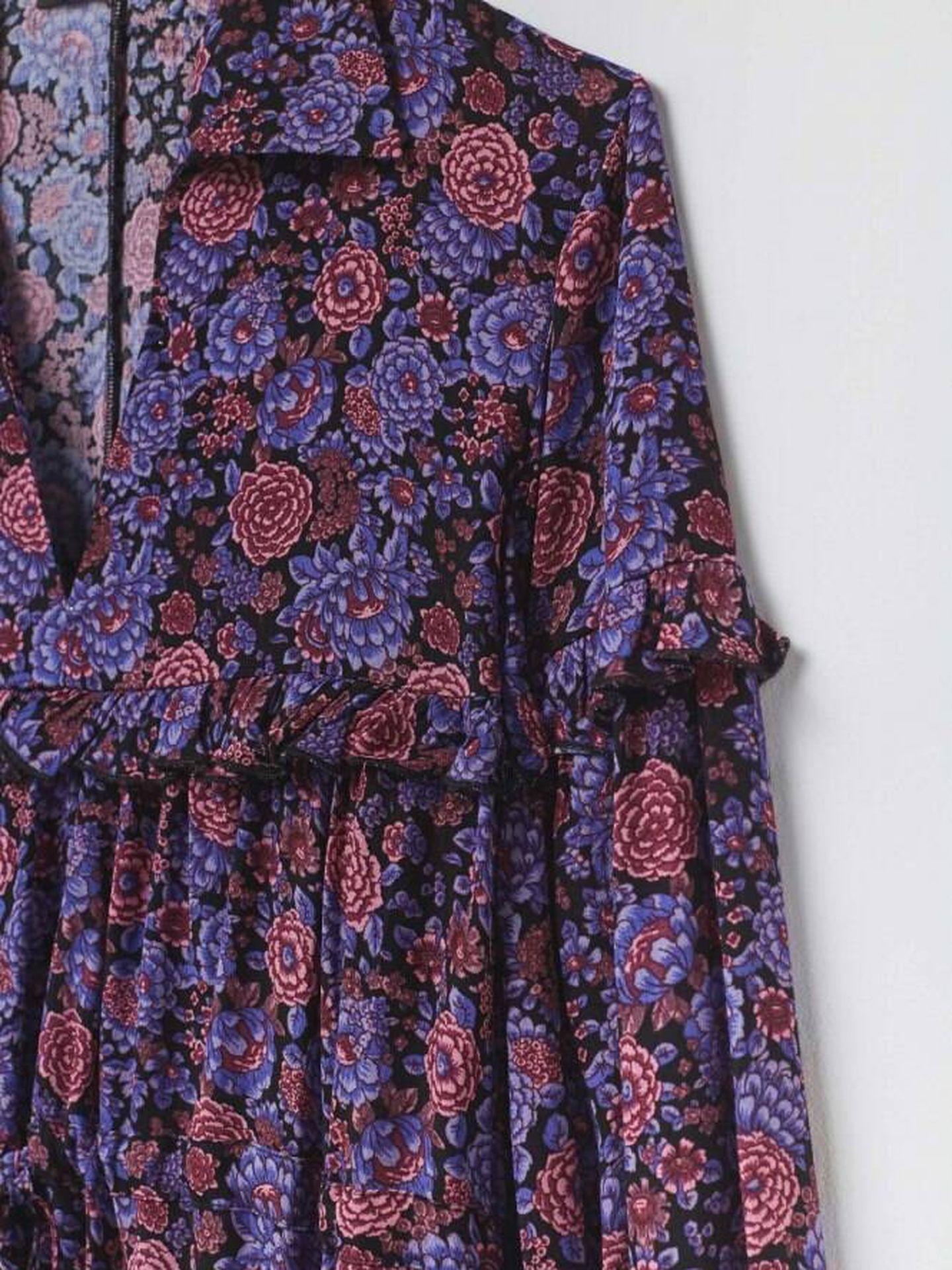 Vestidos de flores de Sfera. (Cortesía)
